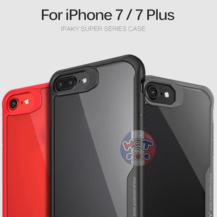 Ốp lưng chống shock Galaxy Super Series Ipaky cho Iphone 7 / 7 Plus / 8 / 8 Plus / 6 / 6 Plus / X
