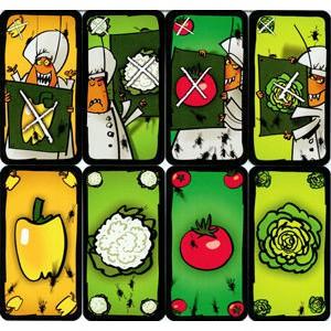 Trò chơi KakerLaken Salat ( Gián Nói Dối ) - Bản Xanh Lá