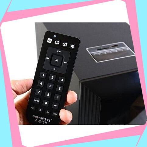 [Cực Phẩm] Loa Vi Tính SoundMax model A-2118/2.1 Giá chỉ 1.766.700₫