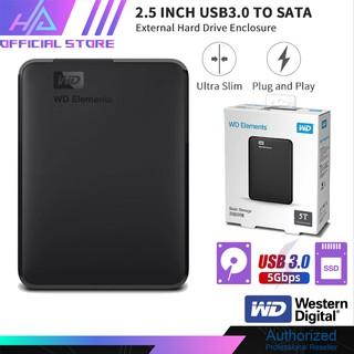 Hộp Đựng ổ Cứng Sata Western 2.5 Inch, Vỏ Box Hdd 2.5 Usb 3.0, Hdd chính hãng