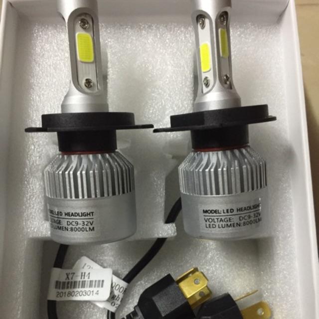 đèn led xe máy 3 tim X7 chân H4 xịn ( chân đồng , tem trắng ) - 3532762 , 851372301 , 322_851372301 , 189000 , den-led-xe-may-3-tim-X7-chan-H4-xin-chan-dong-tem-trang--322_851372301 , shopee.vn , đèn led xe máy 3 tim X7 chân H4 xịn ( chân đồng , tem trắng )