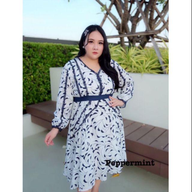 เดรส สาวอ้วน มีไซส์ L / XL