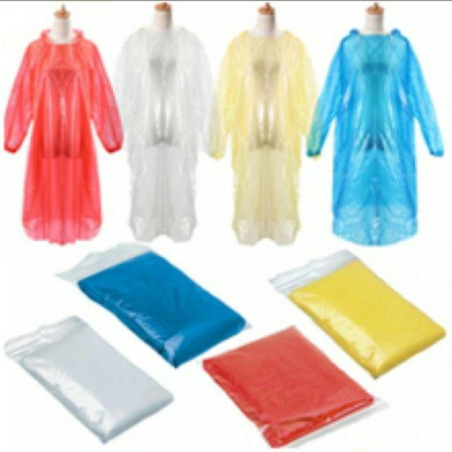 50 áo mưa mặc một lần ( 1 bịch) - áo mưa tiện lợi