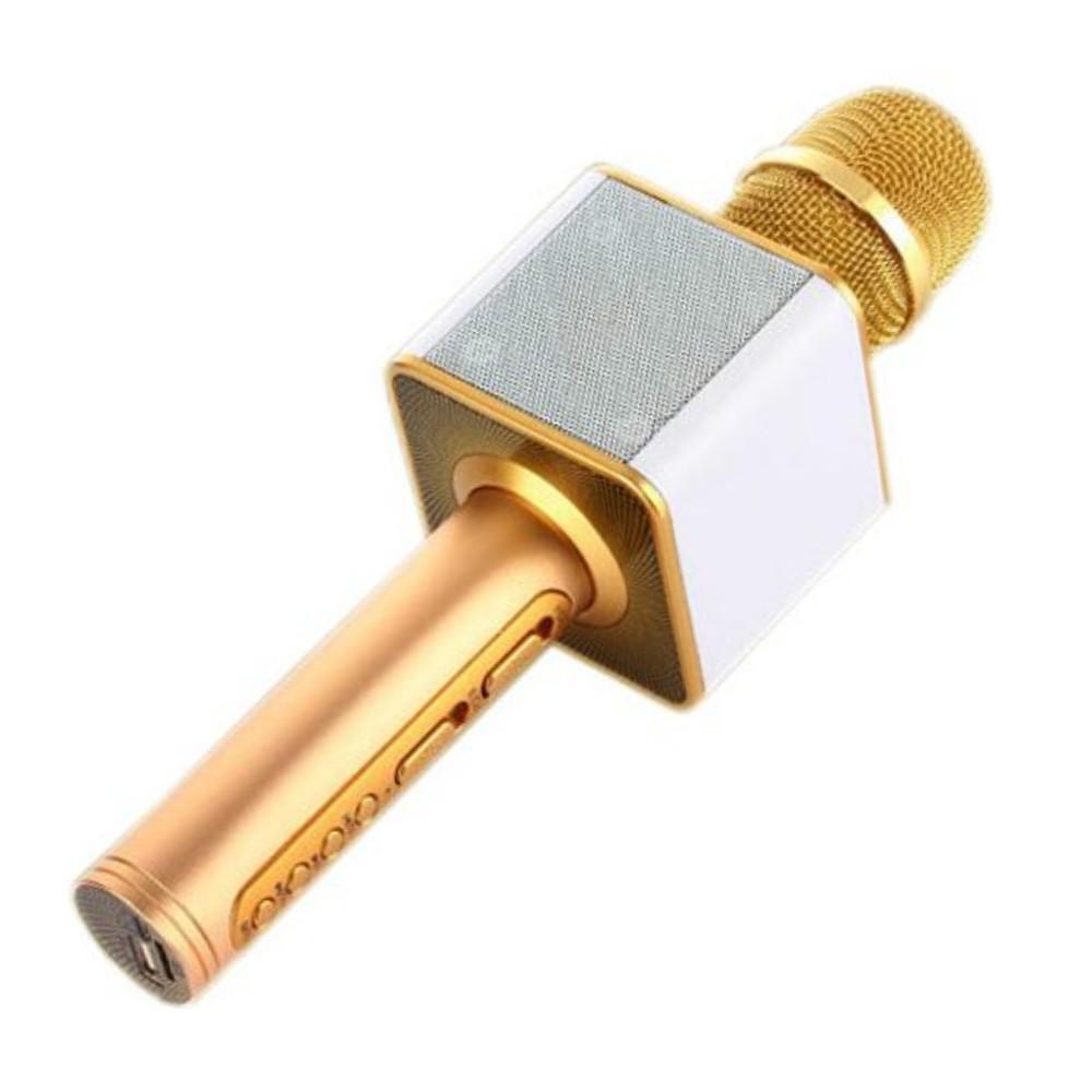 Mic hát karaoke Bluetooth SD-08 loại 1 (vàng)