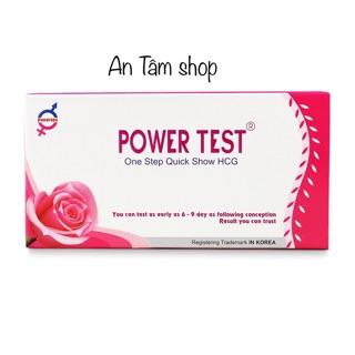 Que thử thai nhanh Power test thumbnail
