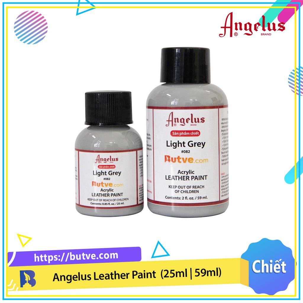 Màu acrylic vẽ da chuyên dụng Angelus Leather Paint - Light Grey (25ml | 59ml)