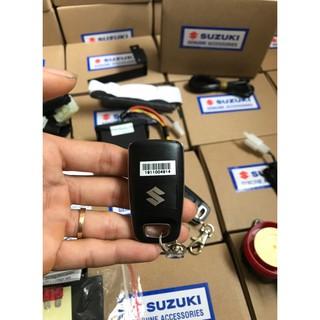 Bộ Chống Trộm Suzuki Chính Hãng Lắp Full Giắc Cắm Cho Xe Wave Anpha 2019