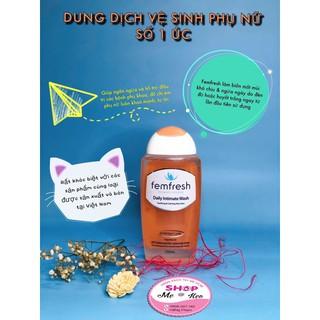 Dung dịch vệ sinh cho phụ nữ Femfresh Daily Intimate Wash (250ml), Úc thumbnail