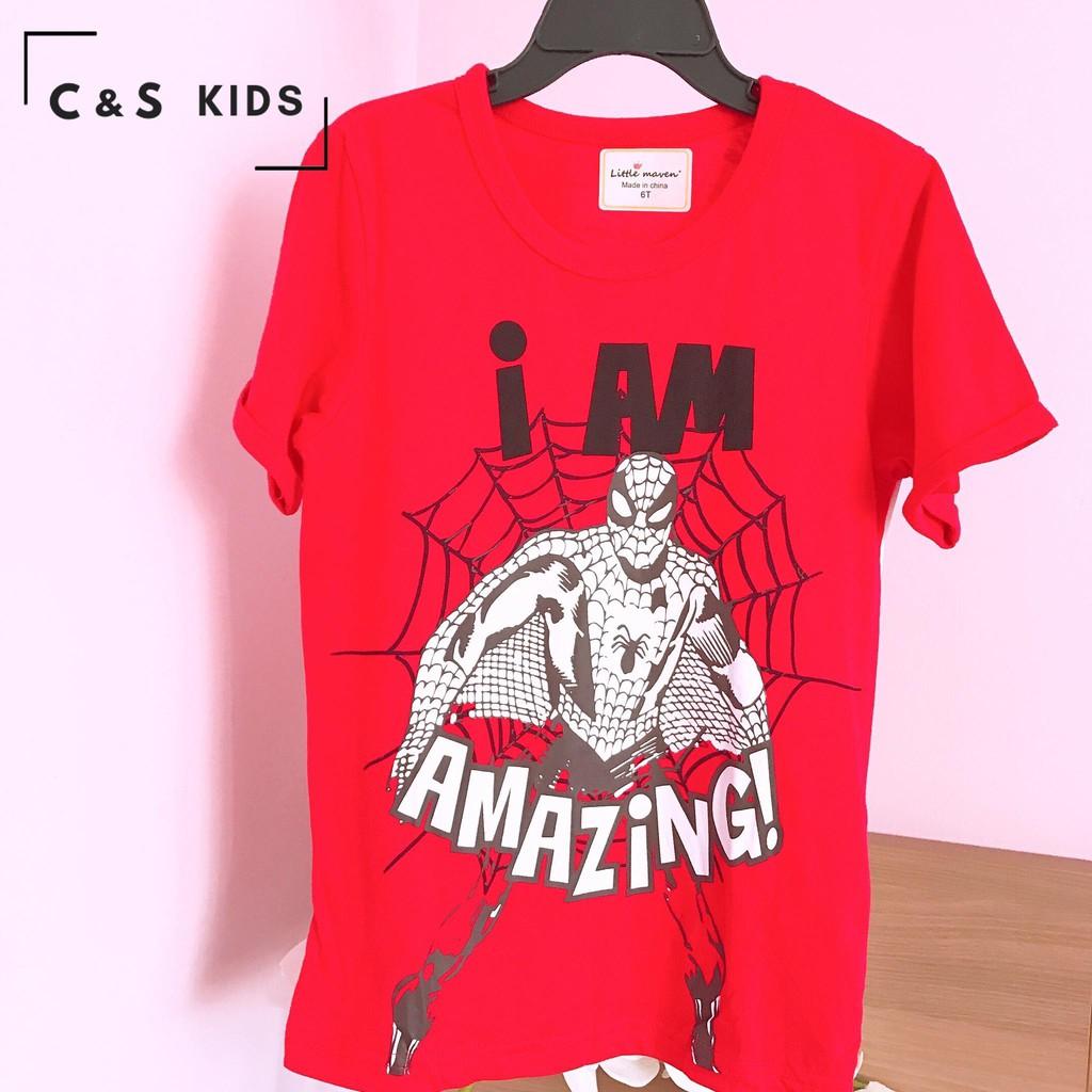 áo thun Bé Trai Little SNN đỏ