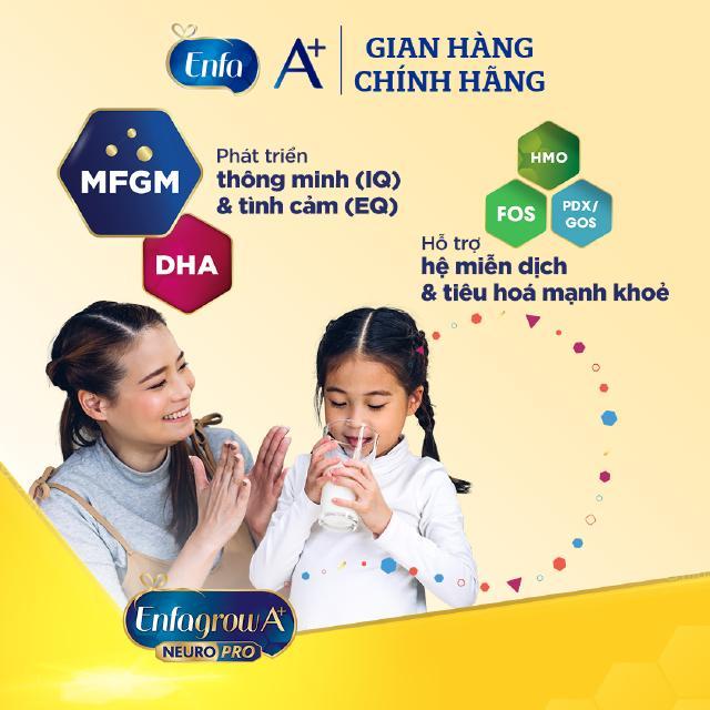 Hình ảnh Sữa bột Enfagrow A+ Neuropro 4 Vị thanh mát với dưỡng chất DHA & MFGM – 2.2kg-2