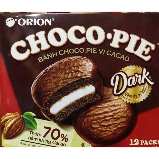 Bánh Dark Choco-Pie hộp 360g - 3215565 , 895966254 , 322_895966254 , 50000 , Banh-Dark-Choco-Pie-hop-360g-322_895966254 , shopee.vn , Bánh Dark Choco-Pie hộp 360g