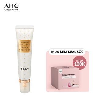 Kem Mắt Chống Lão Hóa Cho Mắt Và Mặt AHC The Pure Real Eye Cream For Face (30ml)