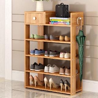 Kệ để giày dép 5 tầng bằng gỗ cao cấp