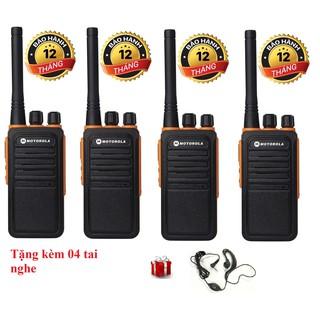 Bộ 4 Bộ đàm Motorola GP900S(Loa chống bụi, Dung lượng pin cực lớn >12 tiếng, cự ly liên lạc xa, siêu bền)