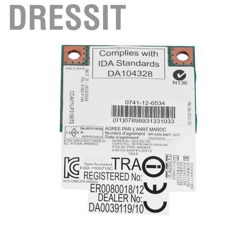 Card Mạng Không Dây Wifi 4.0 Băng Tần Kép Ar5B22 300mbps
