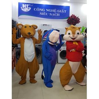 Quần áo hoá trang Mascot Chuột túi Kangaroo nâu – sinh nhật, sự kiện