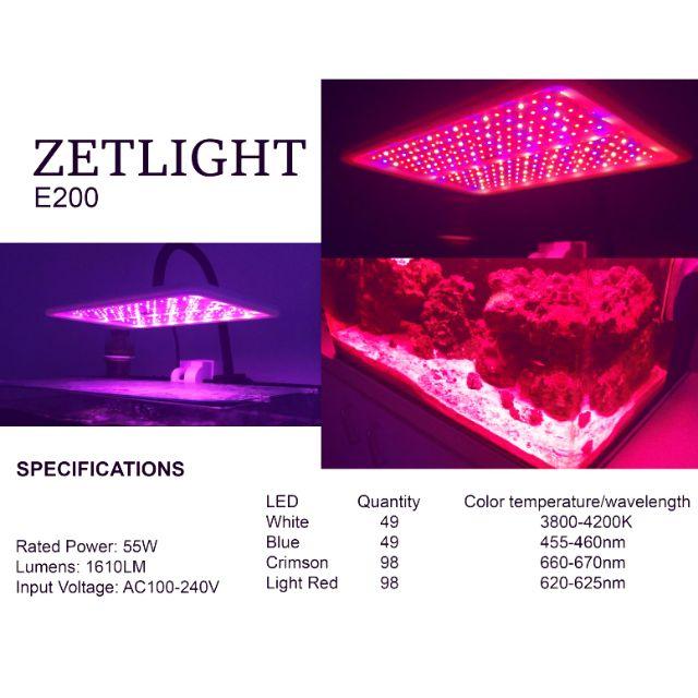 Đèn nuôi rong Zetlight E200S