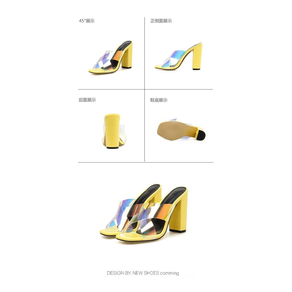 Giày Cao Gót 4.53 Inch Quyến Rũ Cho Nữ Size 35-40)