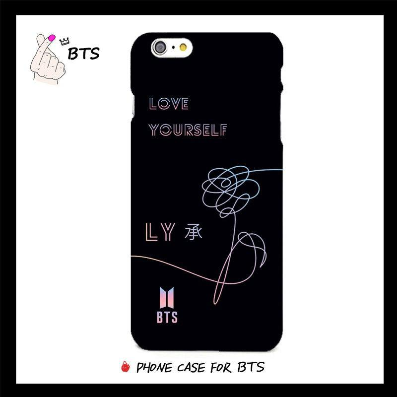 BTS Phone Case Cover LOVE YOURSELF for iPhone 6 6s 7 8 Plus