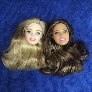 Combo 2 đầu búp bê barbie