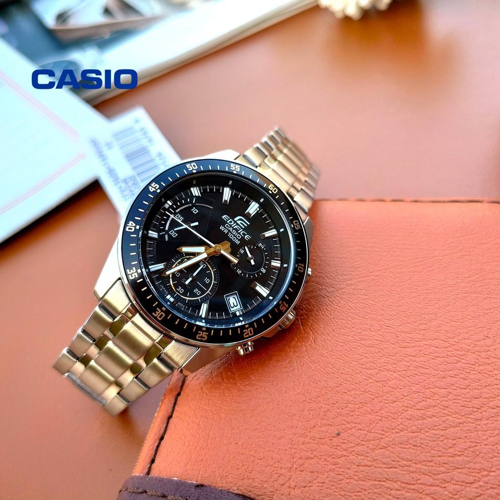 Đồng hồ nam Casio Edifice EFV-540D-1A9VUDF chính hãng - Bảo hành 1 năm, Thay pin miễn