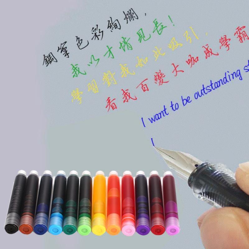 Ống mực nhiều màu dành cho bút máy