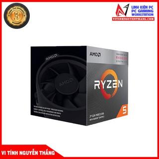 CPU BỘ VI XỬ LÝ AMD RYZEN 5 3400G (3.7GHZ TURBO UP TO 4.2GHZ, 4 NHÂN 8 LUỒNG, 4MB CACHE, RADEON VEGA 11, 65W) thumbnail