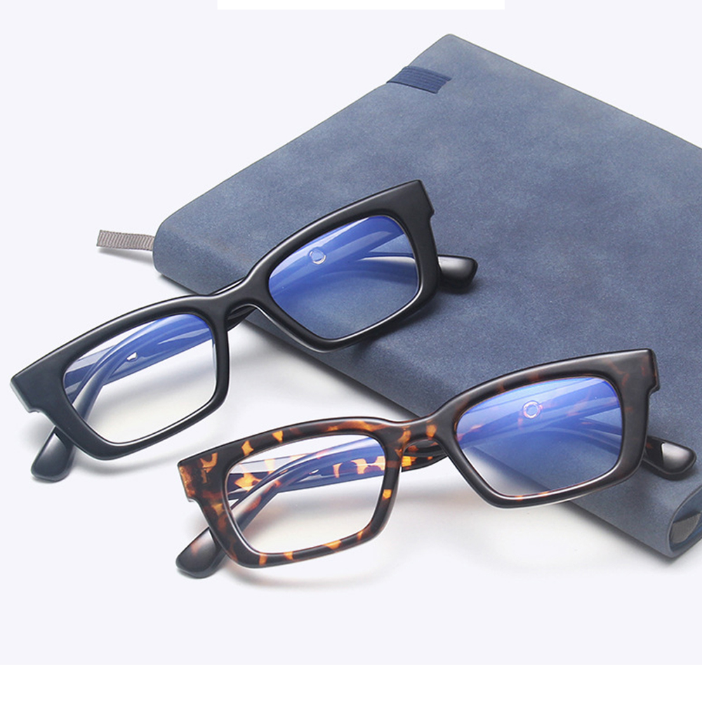 ❤LANSEL❤ Fashion Square Frame Eyewear Radiation Protection Vintage Eyeglasses Anti-blue Light Glasses Vision Care Men Women Blue Light Blocking Retro...