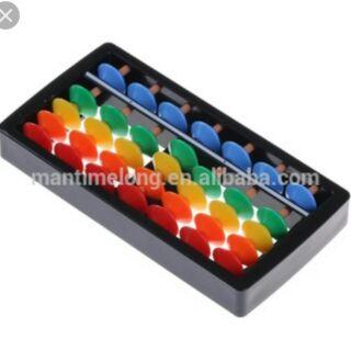 Bàn tính Abacus nhựa 7 cột cho bé học toán