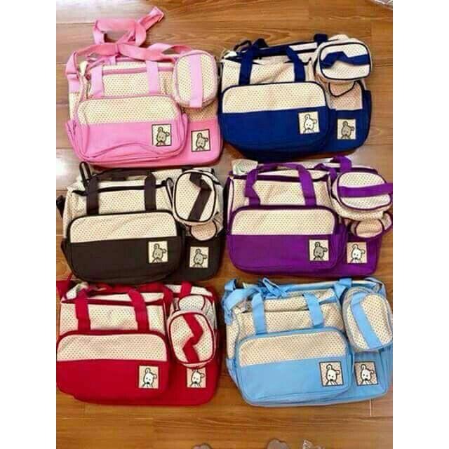(Sỉ) Sét túi 5 chi tiết cho mẹ và bé - 2529420 , 49219167 , 322_49219167 , 158000 , Si-Set-tui-5-chi-tiet-cho-me-va-be-322_49219167 , shopee.vn , (Sỉ) Sét túi 5 chi tiết cho mẹ và bé