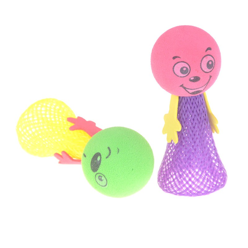 2Pcs Jump Doll Bounce Elf Fly Creative Children Kids Baby Educational Toys Gift