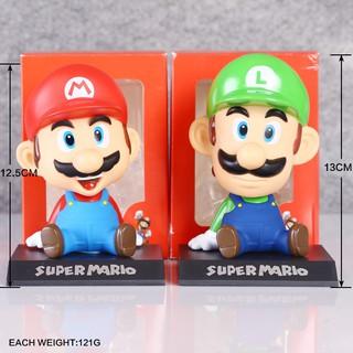 Mô Hình Nhân Vật Super Mario Trang Trí Xe Hơi