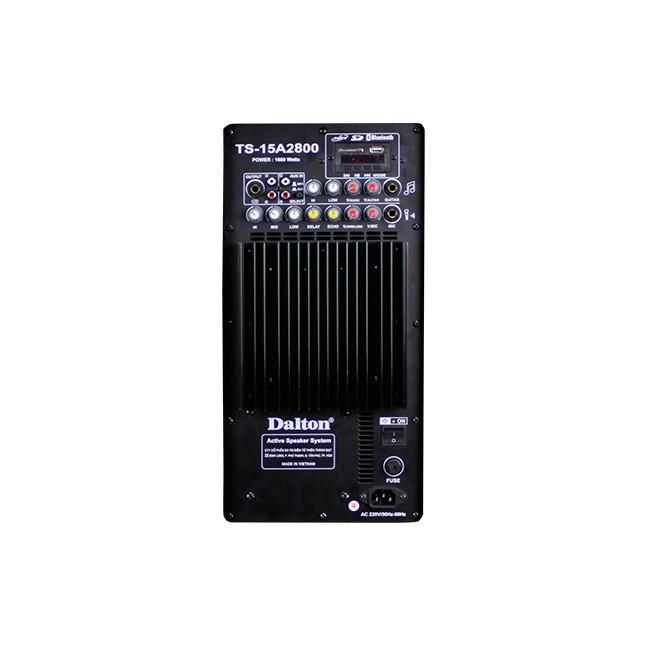 [Mã ELTECHZONE giảm 5% đơn 500K] Loa kéo điện sân khấu Dalton TS-15A2800 1600W chính hãng
