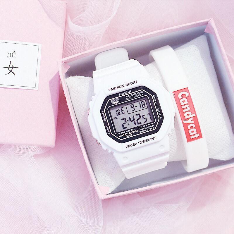 Đồng hồ điện tử nam nữ Taixun siêu hot SC244