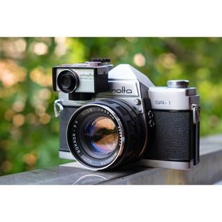 [MGG-10%][Sẵn hàng] Máy film cổ Minolta SR-1 cực vintage