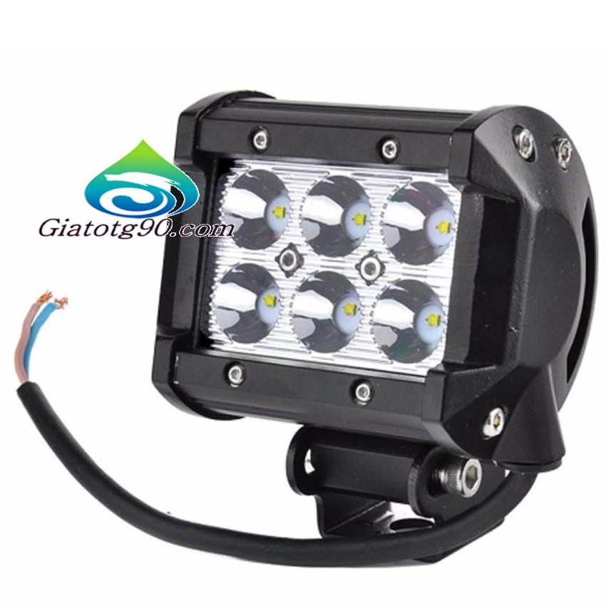 Đèn led trợ sáng C6 18w TI6362 (sáng trắng)