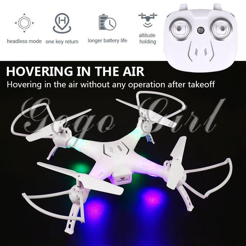 Cool 4CH 6-Axis Gyro  RC Drone 4CH 6-Axis Gyro Uav One Key Landing Altitude Hold UAV LED