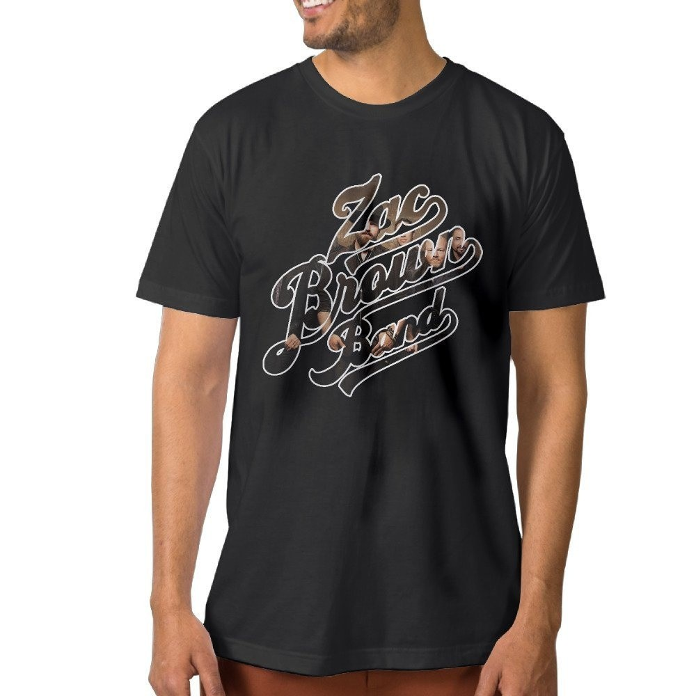 Men'S Boston Rock Band Classic Distressed Black Father's Men'T-Shirt