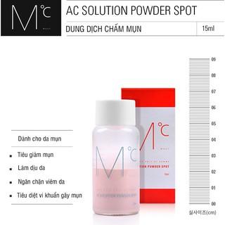 Hình ảnh Dung dịch chấm mụn MdoC AC Solution Powder Spot 15ml MCM01-1