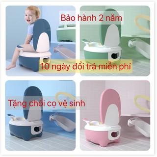 [ Bảo hành 12 tháng ] Bô vệ sinh cho bé, bộ vệ sinh cao cấp cho bé Baby Toilet-Tặng chổi vệ sinh thumbnail