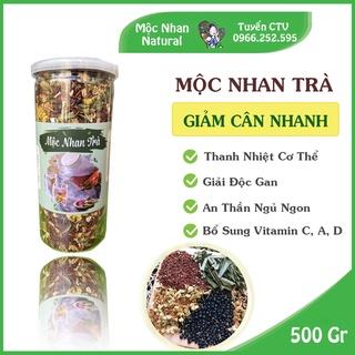 Mộc Nhan Trà ( Trà hoa ngũ cốc ) Mộc Nhan Natural, thanh nhiệt, giải độc, an thần, giảm cân. thumbnail