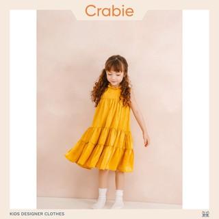 Đầm Trẻ Em Thiết Kế Dự Tiệc Layla Dress - Vàng