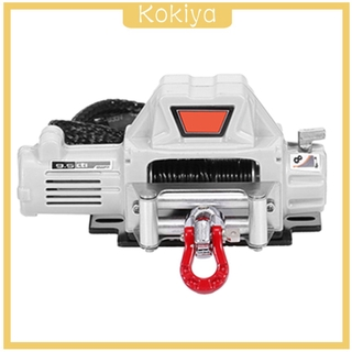 [KOKIYA] 1/10 Scale RC Crawler Car Automatic Winch fits HSP SCX10 Model Parts