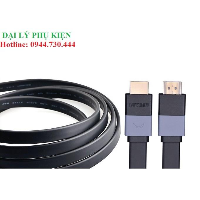Cáp HDMI mỏng dẹt 8m UGREEN 30113