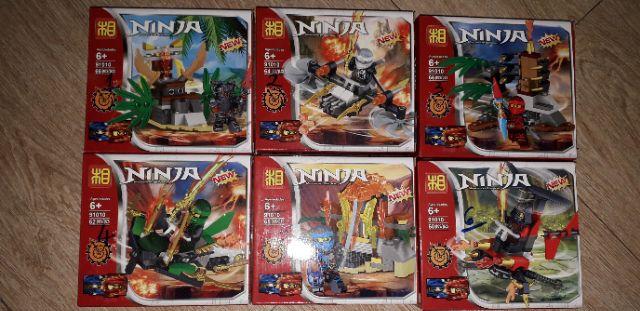 Lắp ráp 1 hộp Lego Ninjago 91010