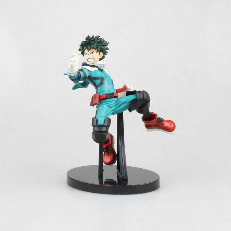 17cm Anime Doll My Hero Academy Midoriya Izuku DXF Banpresto Cartoon Action Figures Kids Toy