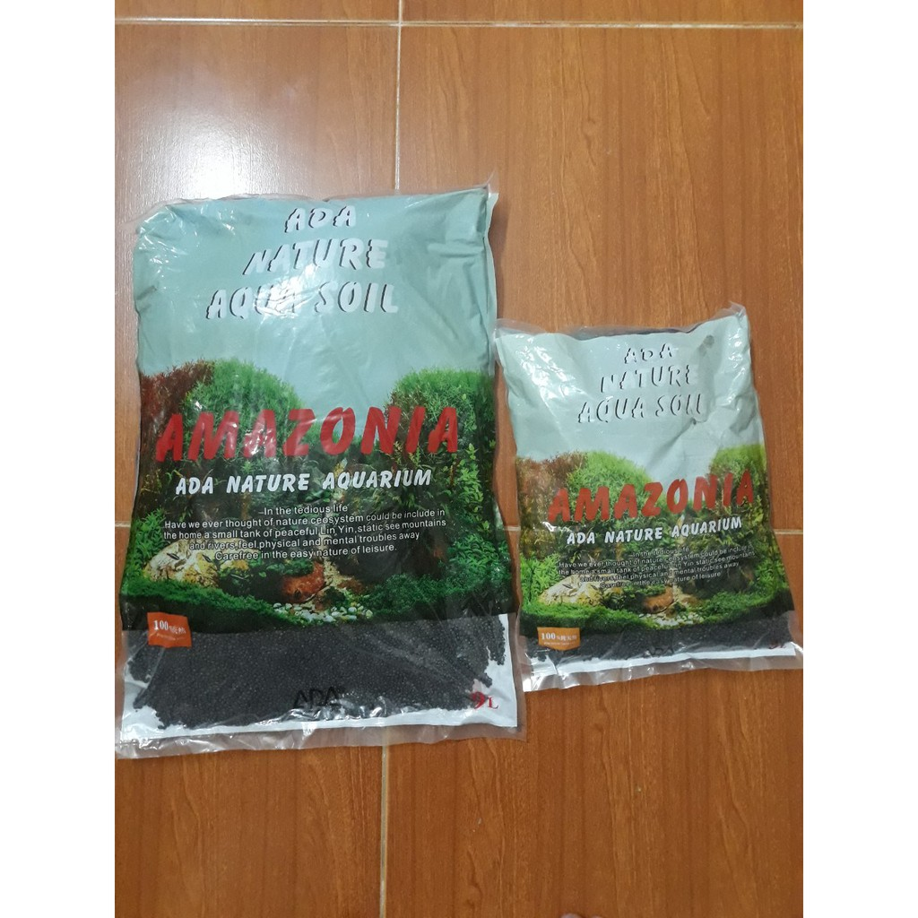 Phân Nền Thủy Sinh Aqua Amazon Soil- Phân Nền Siêu Dinh Dưỡng Ổn Đinh Ph
