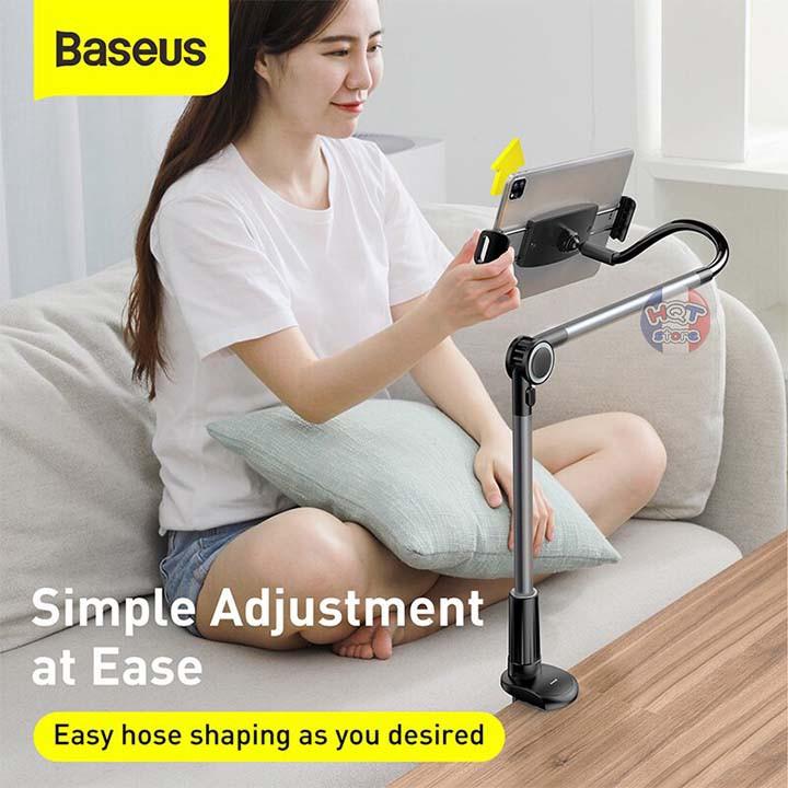 Giá đỡ kẹp điện thoại Ipad Baseus Otaku Life Rotary Lazy Holder 360 độ
