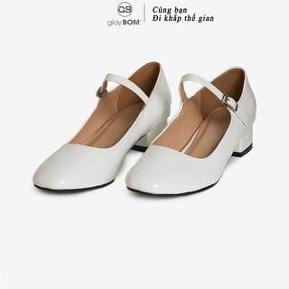 Giày cao gót giayBOM đế cao 4 cm GB00121 thumbnail