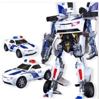 Oto cảnh sát biến hình robot